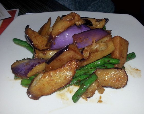 Taiwanese stir fried eggplant