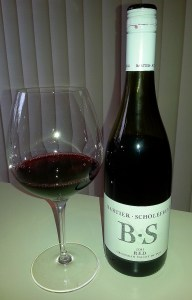 Bartier Scholefield Red 2011 in glass