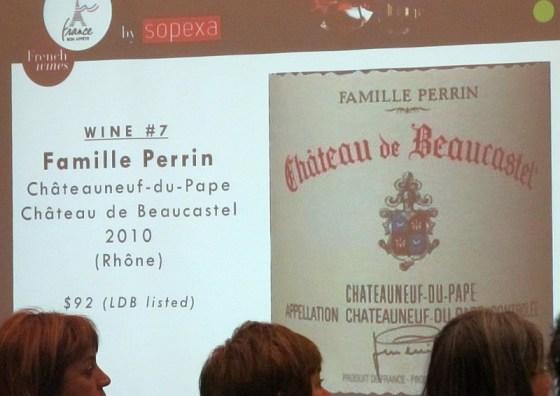 Famille Perrin Chateauneuf-du-Pape Chateau de Beaucastel