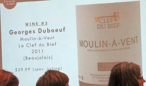 Georges Duboeuf Moulin-a-Vent, La Clef du Bief, Beaujolais