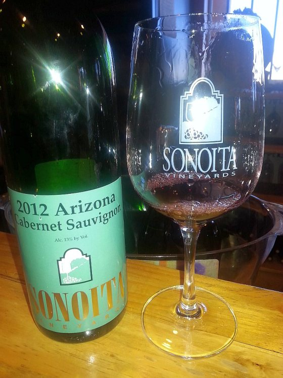 Sonoita Vineyards Cabernet Sauvignon 2012