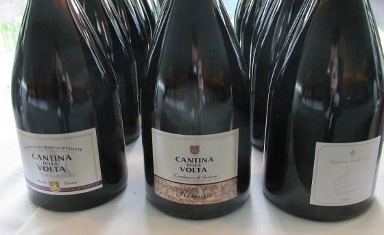 Cantina della Volta 3 Lambruscos