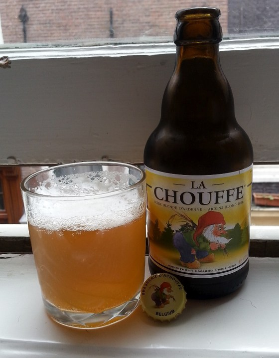 La Chouffe Blonde beer