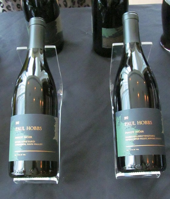 Two Paul Hobbs Pinot Noirs from California
