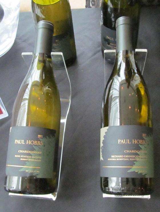 Paul Hobbs Ross Station and Richard Dinner Chardonnays