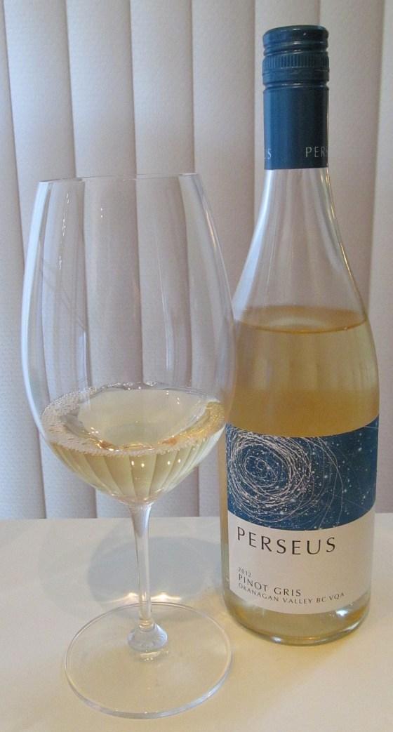Perseus Pinot Gris 2012