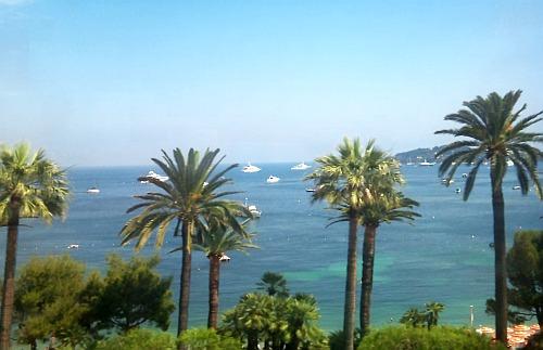The Mediterranean coastline in Provence