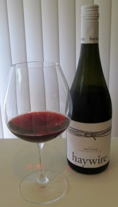 Haywire Pinot Noir 2012