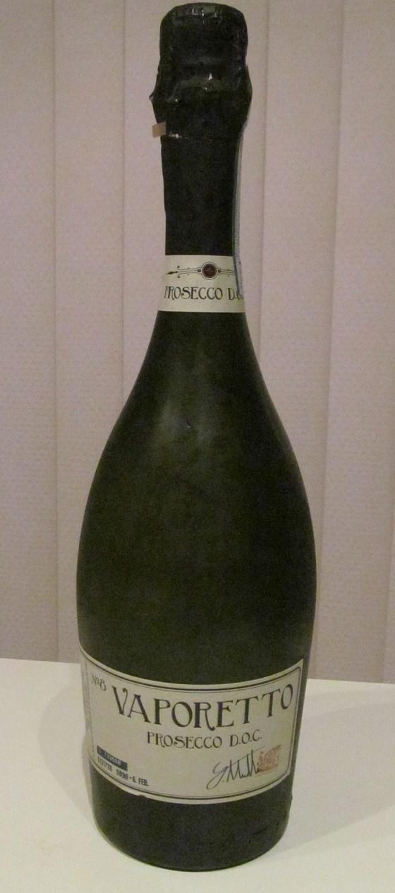 Vaporetto No 8 Prosecco bottle
