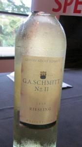 G A Schmitt No 11 Riesling 2013