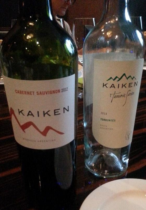 Kaiken Reserva Cabernet Sauvignon and Terroir Series Torrontes