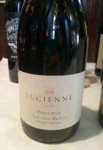 Hahn Family Wines Lucienne Pinot Noir 2010