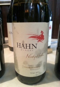 Hahn Family Wines NIcky Hahn Chardonnay 2013