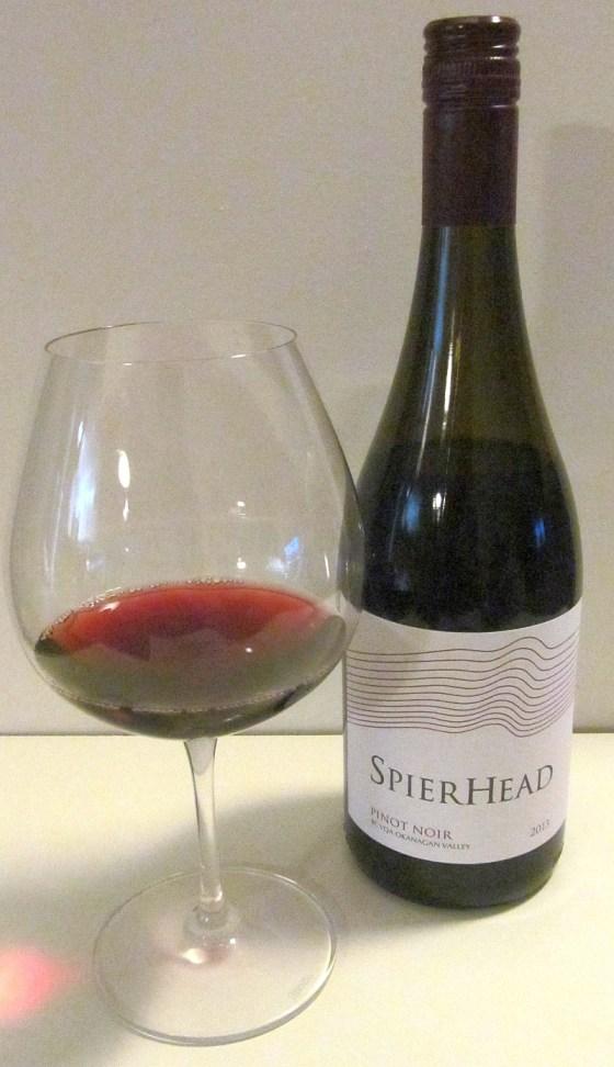 SpierHead Winery Pinot Noir 2013