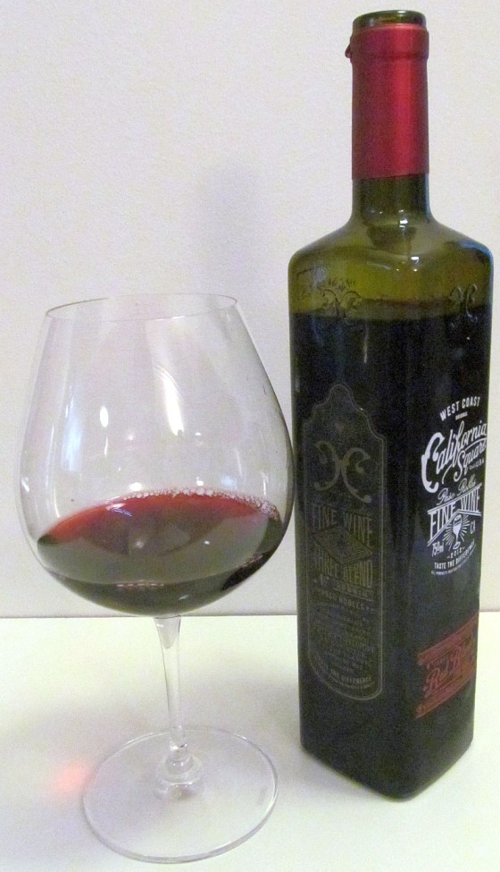 California Square Three Blend red wine