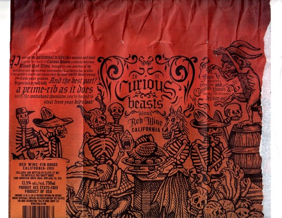 Curious Beasts wrapper