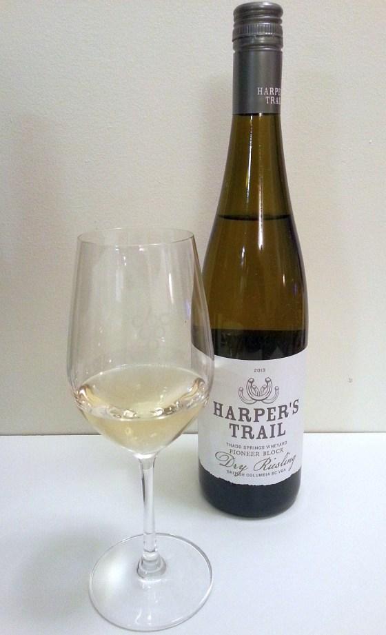 Harper's Trail Thadd Springs Vineyard Pioneer Block Dry Riesling 2013