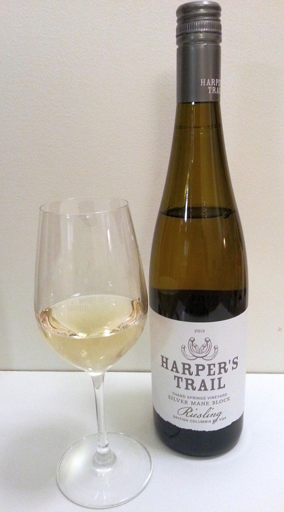 Harper's Trail Thadd Springs Vineyard Silver Mane Block Riesling 2013