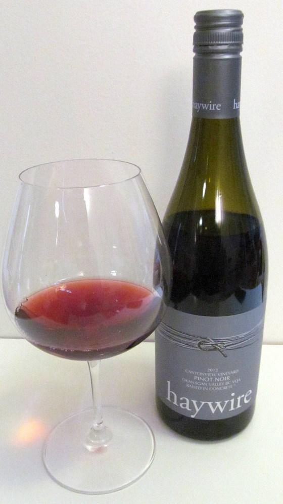 Haywire Canyonview Vineyard Pinot Noir 2012