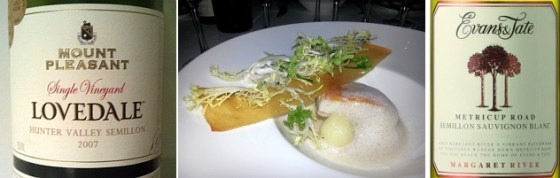 Semillon and Sablefish