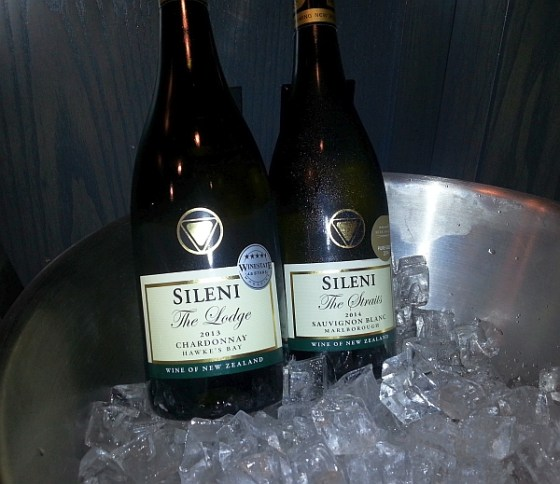 Sileni The Straits Sauvignon Blanc 2014 and The Lodge Chardonnay 2013