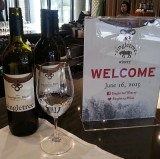 Welcome to Singletree Winery sign