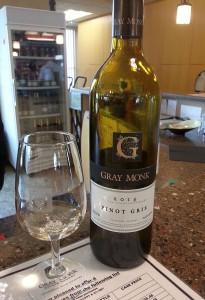 Gray Monk Pinot Gris 2014