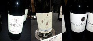 Adega on 45th Cabernet Franc, Daydreamer Jasper, and Gold Hill Winery Merlot