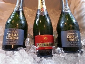 Champagne Charles Heidsieck Brut Reserve and Brut Cuvee
