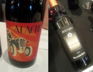 ATS Wine Sicily Terre Siciliane IGP Vino Lauria Alacre 2012 and Rocca Delle Macie Toscana IGT Roccato 2010