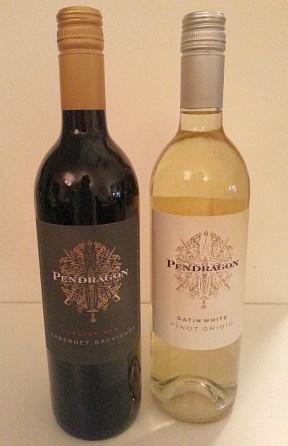 Pendragon Velvet Red and Satin White