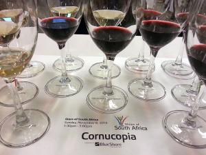 Stars of South Africa wine flight