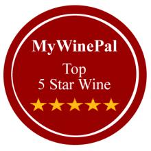 MyWinePal Top 5 Star Wines