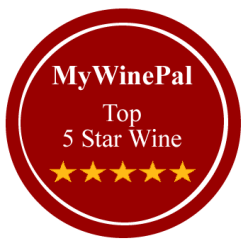 MyWinePal Top 5 Star Wines