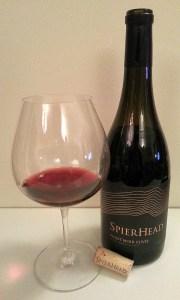 SpierHead Pinot Noir Cuvee 2014
