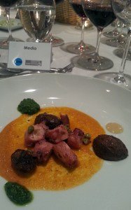 Il Centro - Octopus rounds with pesto