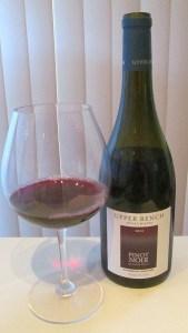 BC Upper Bench Pinot Noir 2012