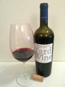 Upper Bench Yard Wine 2013