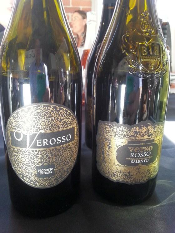 Lunate Verosso Primitivo and Verso Rosso