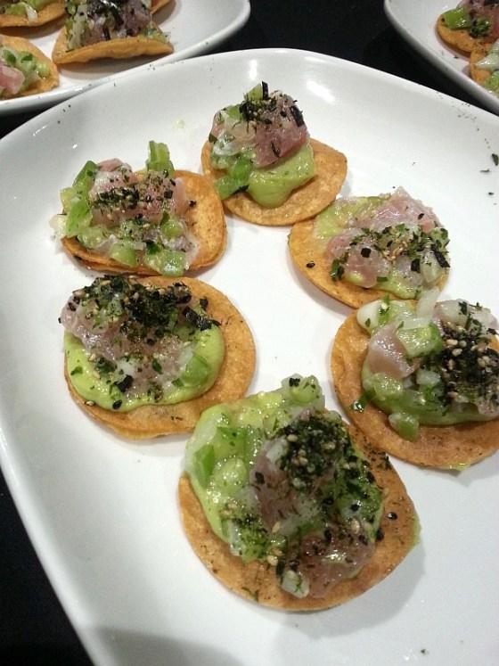 Poquitos - Albacore tuna tostada