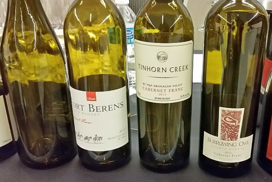 4 BC VQA Cabernet Franc wines