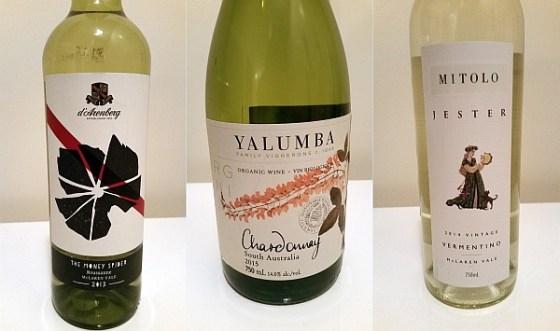 Australian Roussanne Chardonnay and Vermentino wines