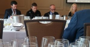 Our Kiwi wine makers along with Daenna Van Mulligan