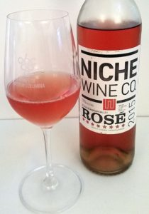 Niche Wine Co Rose 2015