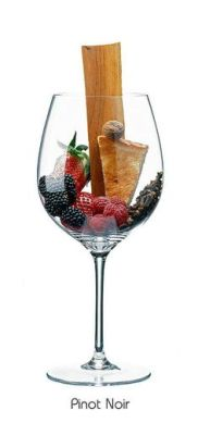 Pinot Noir aromas and flavours