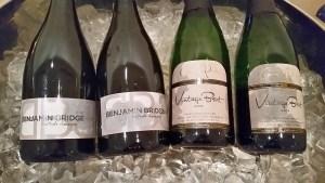 Benjamin Bridge Brut and Domaine de Grand Pre Vintage Brut sparkling wines from Nova Scotia