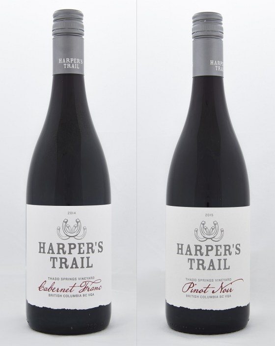 Harper's Trail Cabernet Franc and Pinot Noir