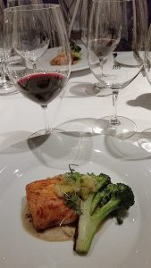 Panca glazed Sablefish paired with Culmina 2014 Cabernet Franc at Ancora