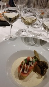 Squid ink Dungeness Crab Tortellini at Ancora