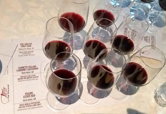 Tulalip Resort Casino seminar featuring Leonetti Cellars Figgins Estate and Toil Oregon wines
